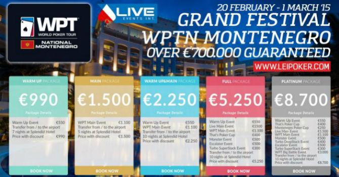 WPT National Montenegro – Analisi eventi in calendario