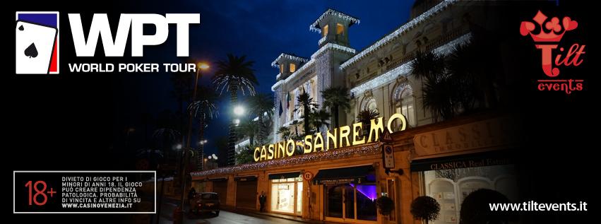 Il successo del WPTNVenezia lancia al meglio la prima edizione di Sanremo